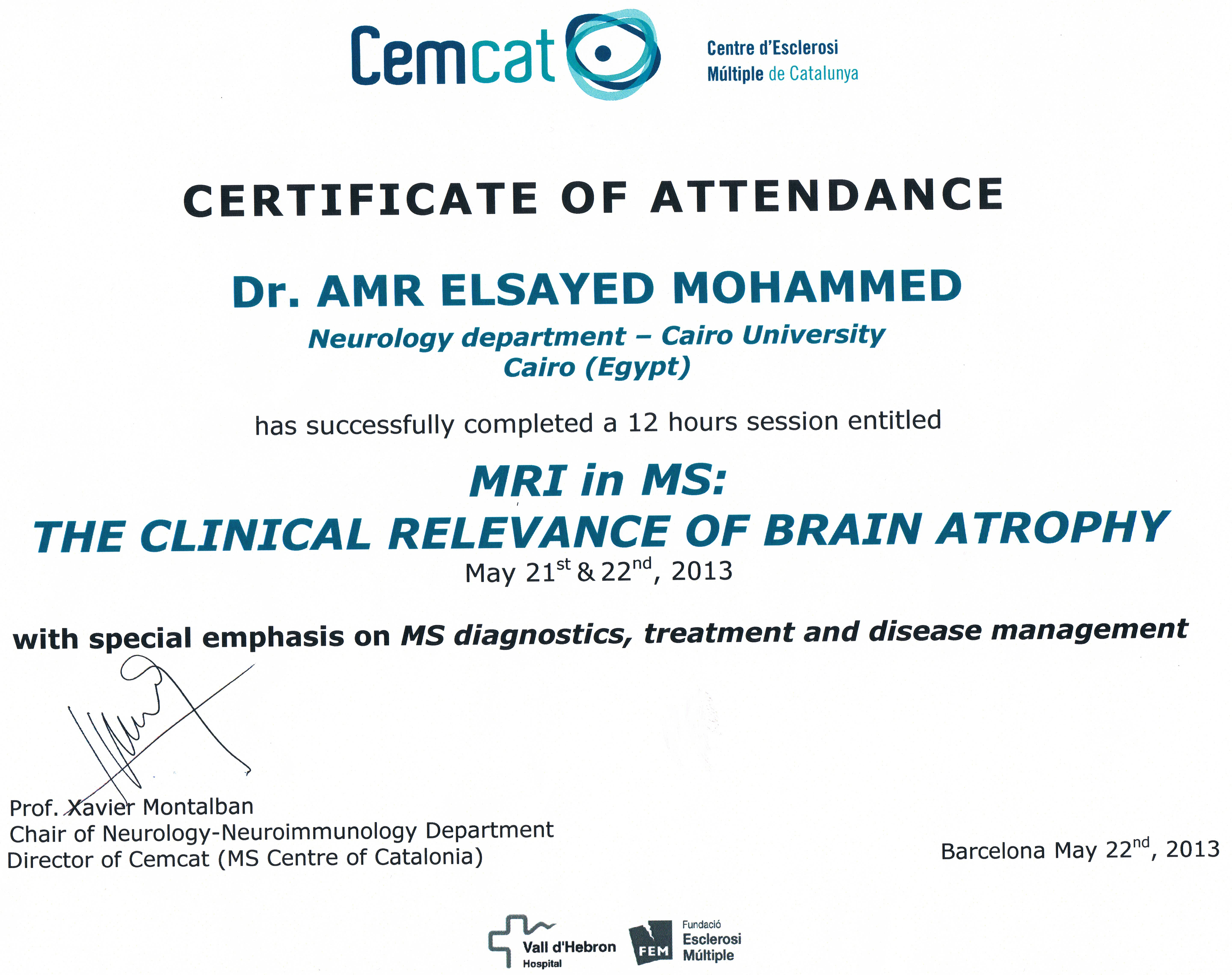 MRI Brain Atrophy